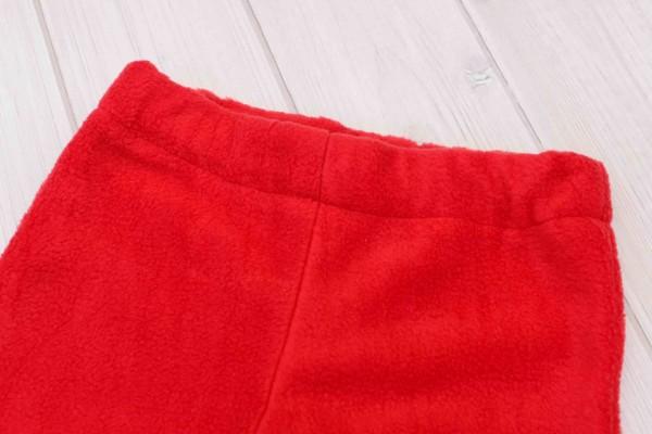Red Rocket Ship Toddler Boys Fleece Pants