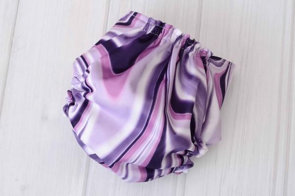 Purple Swirl Cloth Diaper Cover
