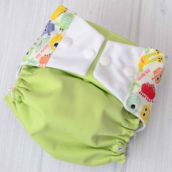 Green Monster Diaper
