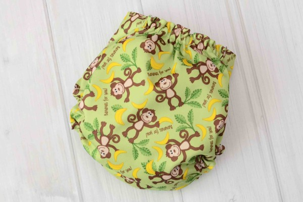 Monkey Cloth Diaper Cover