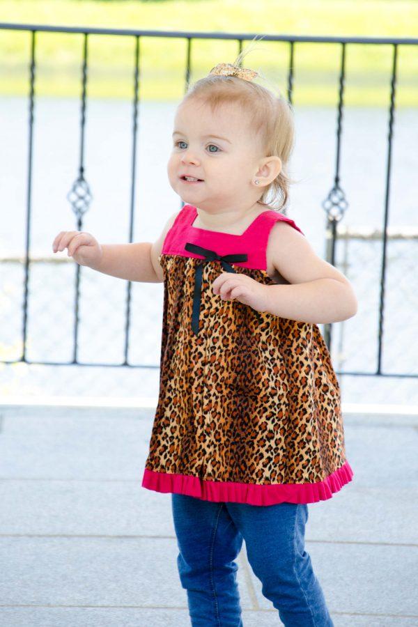 Piper - Cheetah Dress