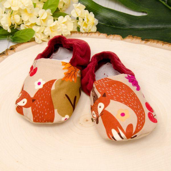 Autumn Fox Baby Shoes
