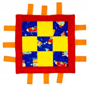 Rocket Ship Sensory Blanket