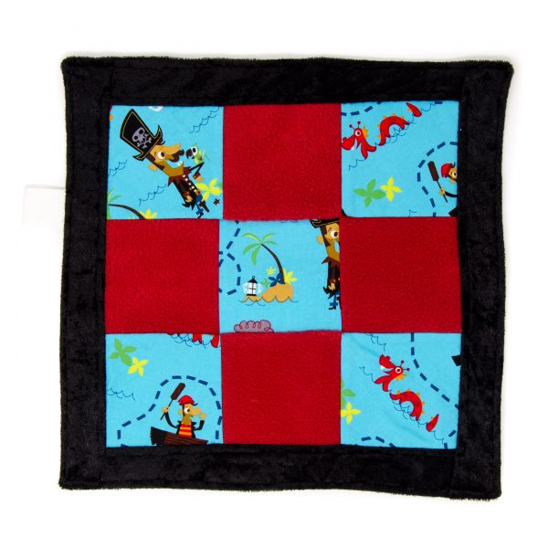 Pirate Sensory Blanket Toy