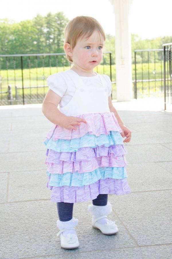 Belle - Ruffle Dress