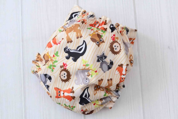 Forest Friends Cloth Diaper Cover