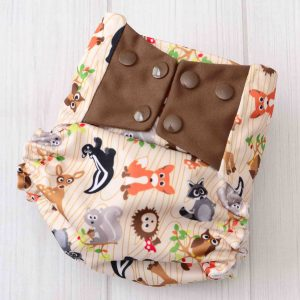 Forest Friends Diaper