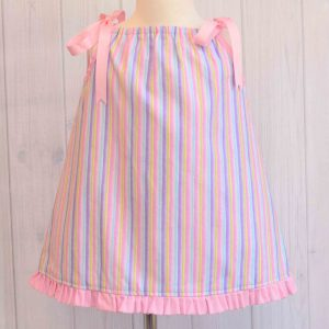 Stripe Pillowcase Dress
