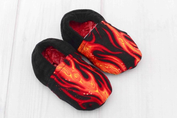 Flames Baby Shoes