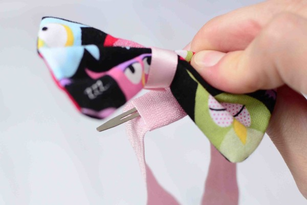 Elastic Headband with Bow