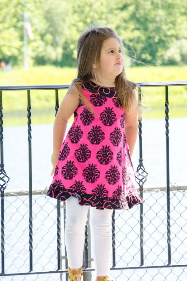Scarlett - Pink & Black Dress