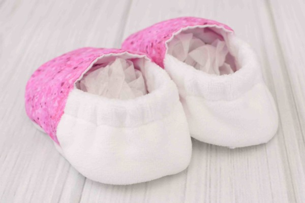 Pink Hearts Shoes