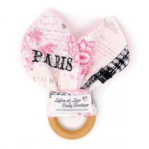 Paris Teething Ring
