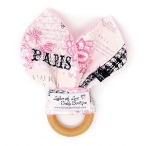 Paris Teething Ring