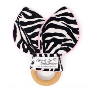 Zebra Teething Ring