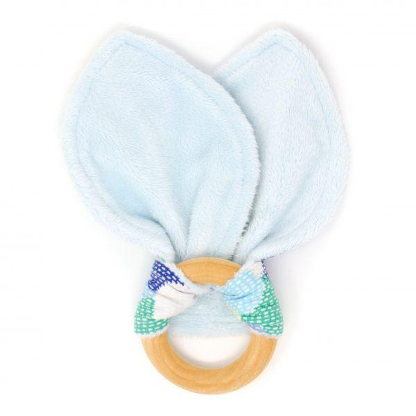 Blue Scallops Teething Ring