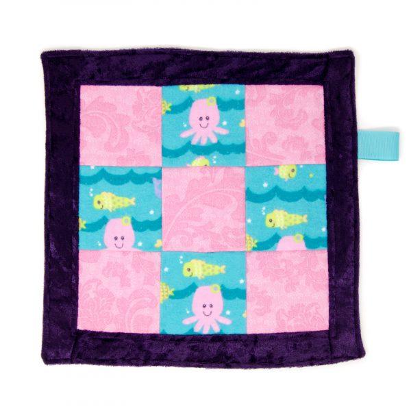 Sea Friends Sensory Blanket Toy