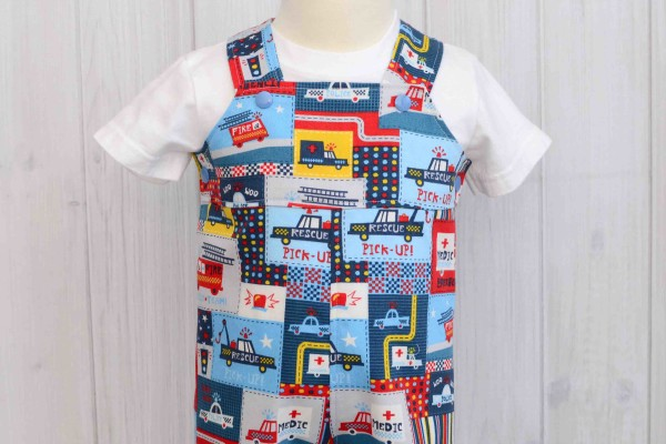 Police Car Overalls