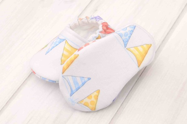 Animal Bunting Baby Shoes