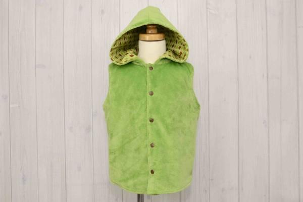 Green Argyle Vest