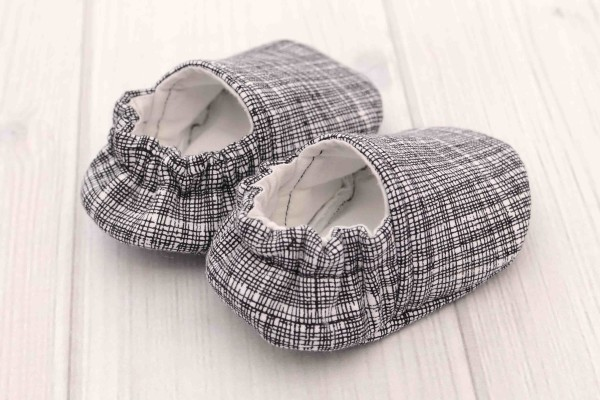 Black & White Baby Shoes