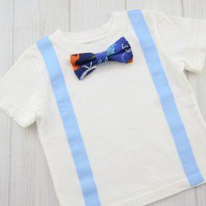 Dinosaur Bow Tie Shirt