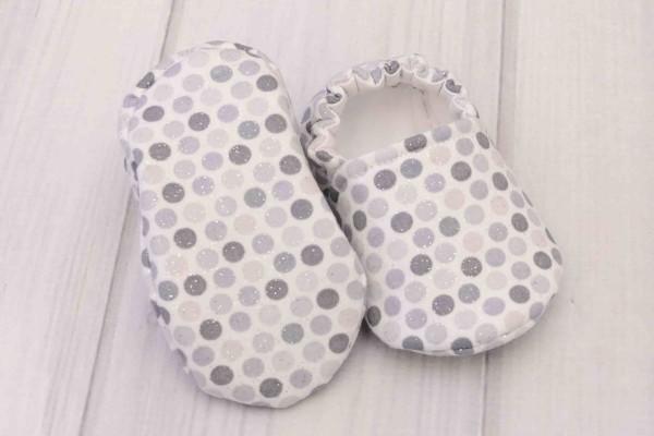 Gray Dots Shoes
