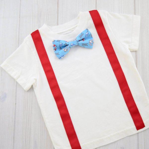 Nautical Bow Tie Shirt