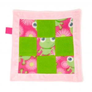 Frogs Sensory Blanket Toy