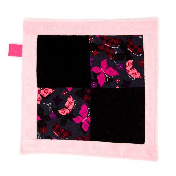 Butterfly Sensory Blanket Toy