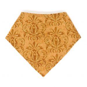 Gold Bandana Bib