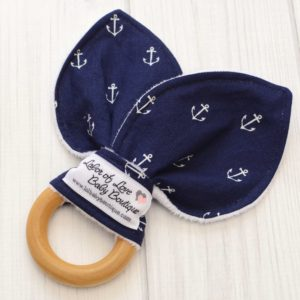 Anchor Teething Ring