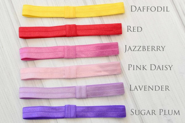 Red, Pink, Purple Headbands