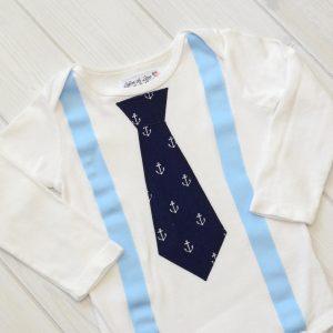 Anchors Tie Shirt