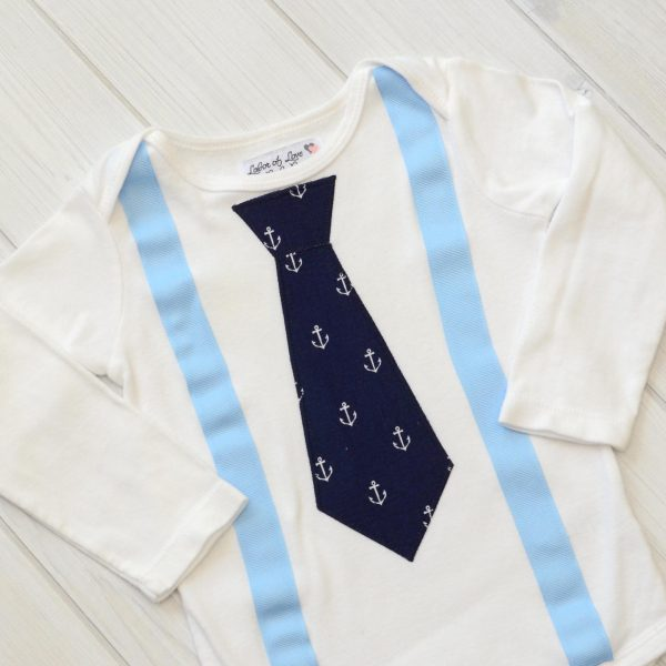Anchors Tie Shirt