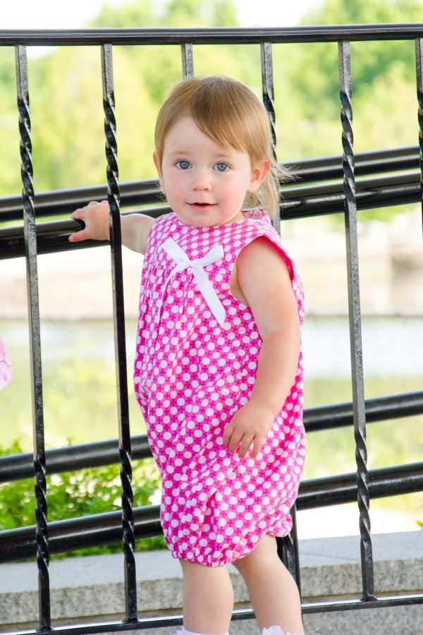 Belle - Dots Romper