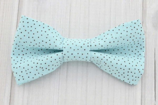 Aqua Bow Tie Shirt