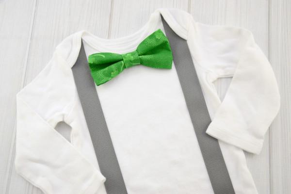 3 Leaf Clover Bow Tie Shirt