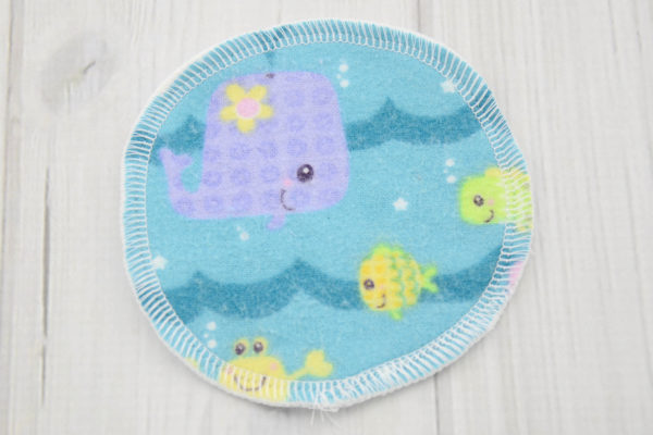 Ocean Animals Nursing Pads