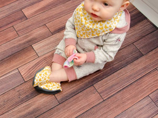 Yellow Butterfly Shoes - Eyla