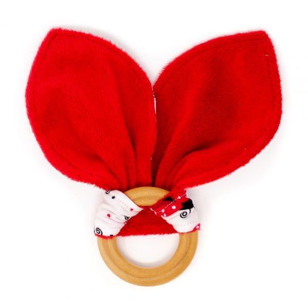 Ladybug Teething Ring