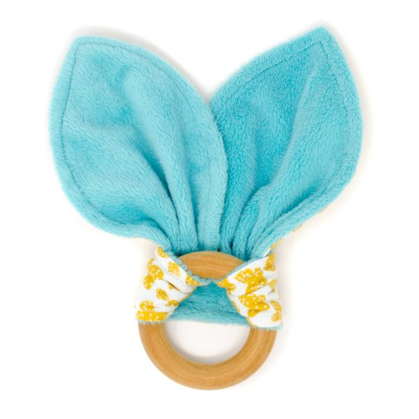 Yellow Butterfly Teething Ring