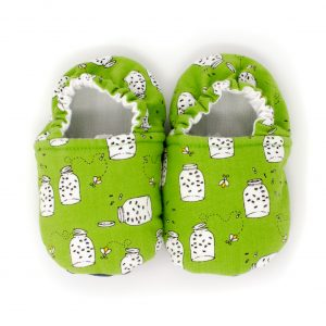 Green Firefly Baby Shoes