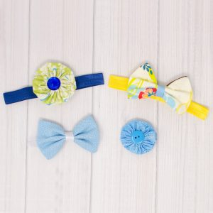 Summer Fun Hair Bow Set