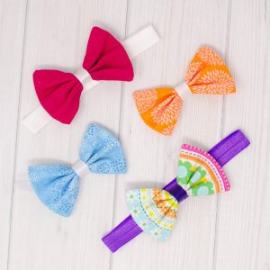 Summer Brights Hair Bow Set