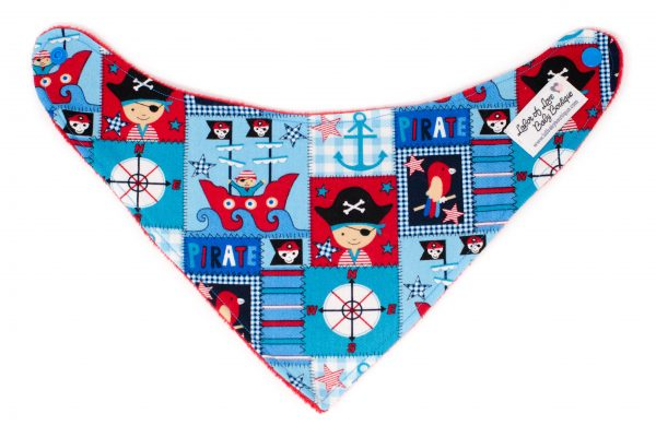Pirate Bandana Bib