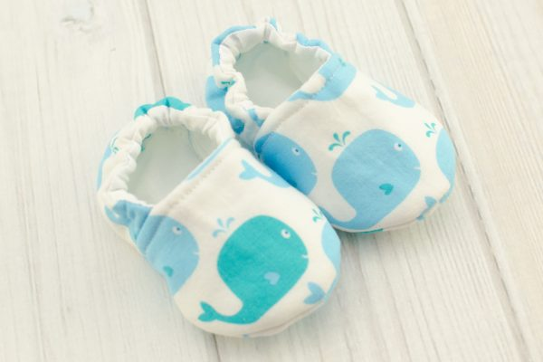 Whales Baby Shoes