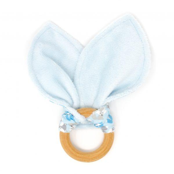 Blue Fox Teething Ring