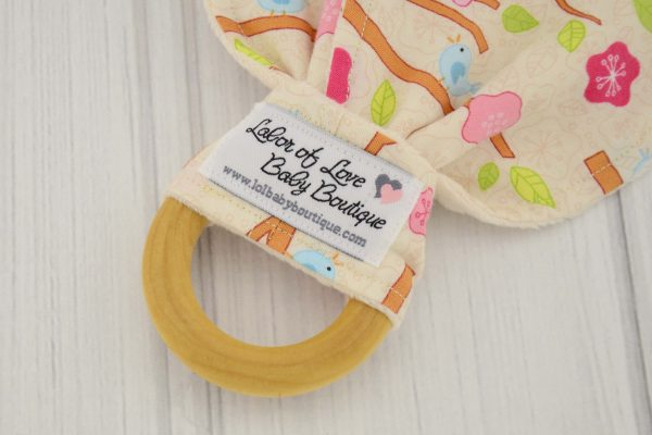 Birds Teething Ring