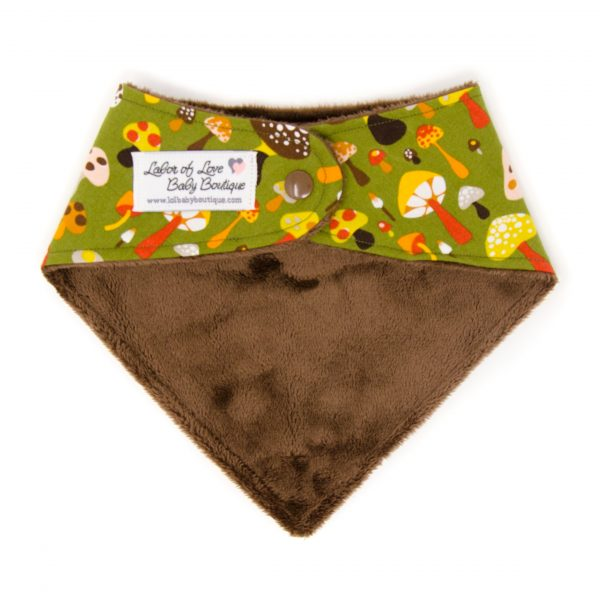 Mushrooms Bandana Bib
